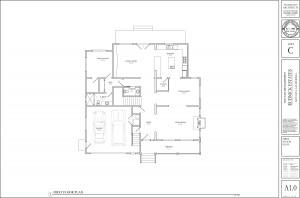 A1.0 First Floor Plans